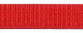 Tassenband 20 mm rood