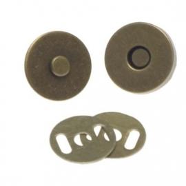 Magneetsluiting brons 14 mm