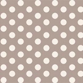 Medium Dots  Grey - 130012