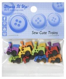 Trein knoopjes  - 6926