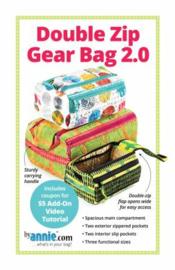 Double Zip Gear Bag 2.0 - PBA257