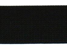 Tassenband 38 mm zwart