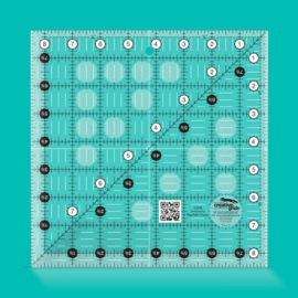 Creative Grids Quilt ruler 8,5 x 8,5 inch  - CGR8