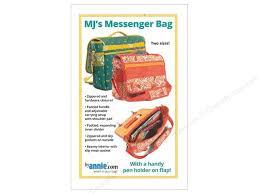 MJ's Messenger Bag  - PBA261