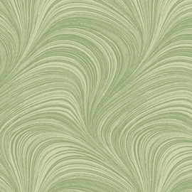 Wave Texture Green  - 2966/42