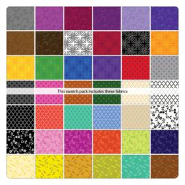 Jelly Roll Kanvas Fabrics - Color Theory