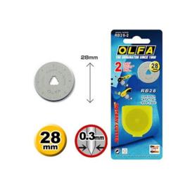 Olfa reservemessen 28 mm