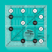Creative Grids Quilt ruler 3,5 x 3,5 inch  - CGR3