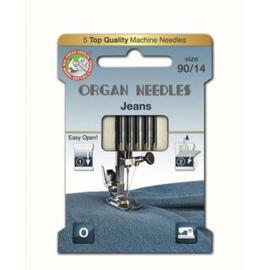 Organ - Jeans naaimachinenaalden 90