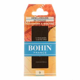 Quiltnaalden Bohin -  maat 9