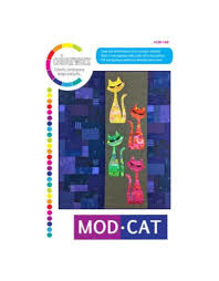 Quiltpatroon - Mod Cat
