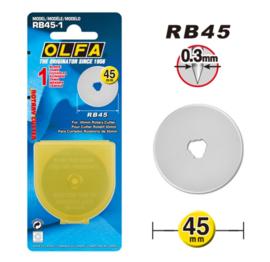 Olfa - reservemes 45 mm