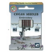Organ - borduur naaimachine naalden
