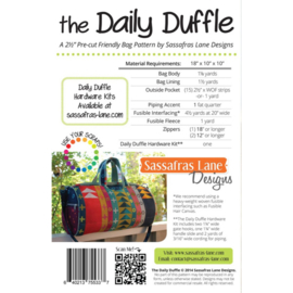 The Daily Duffle by Sassefras Lane