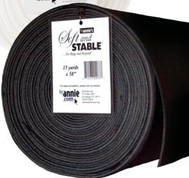 Soft and Stable tussenvulling voor tassen - zwart