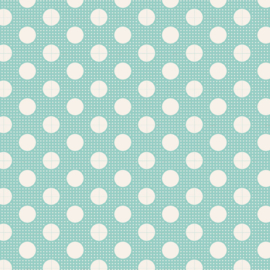 Medium Dots Teal - 130001