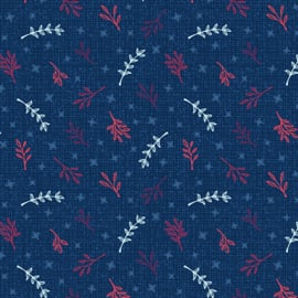 Mabon Boughs Navy - 1817/11