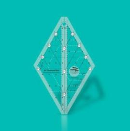 Creative Grids Quilt ruler : 60 gr Diamond Mini  - CGRDIAMINI