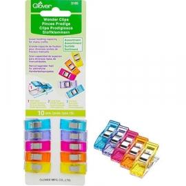 Clover Wonder Clips - 10 stuks in kleur