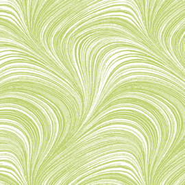 Wave Texture Lime  - 2966/40