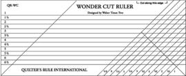 Liniaal - QR Wonder Cut Ruler