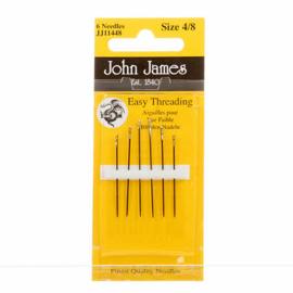 Easy Threading Naalden John James -  maat 4/8