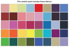 Charm Pack Benartex - Superior Solids