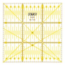 Liniaal Olfa - 15 x 15 cm