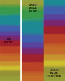 Essentials Gradiations Rainbow - 2046/11