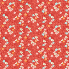 Michiko Bushclover Red - 2336/R