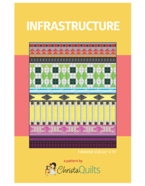 Quiltpatroon - Infrastructure by Christa Watson