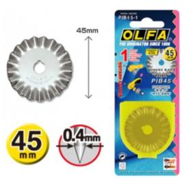 Olfa Pinking blade -  45 mm