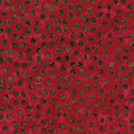 Bali Dots Great Deep Rose  - 3671/28