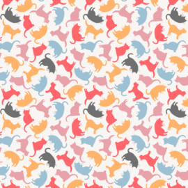 Mod Cat Kitty Silhouettes - 52608/1