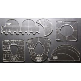 Westalee Template Sampler Set - 6 linialen