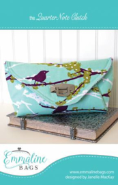 Emmaline Bags - Quarter Note Clutch