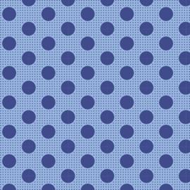 Medium Dots Denim Blue - 130013