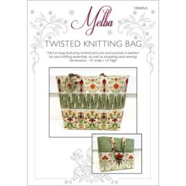 Twisted Knitting Bag