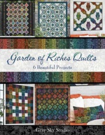 Patronenboek - Garden of Riches Quilts book