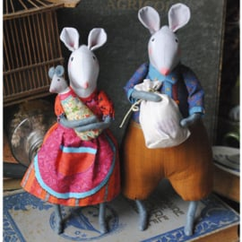 Sewing kit The Atic Mice - Odile Bailloeul