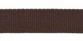 Tassenband 20 mm bruin