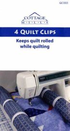 Quilt clips - 4 stuks
