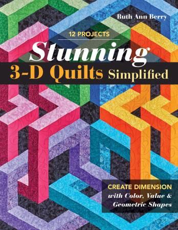 Boek  - 3D Quilts Simplified