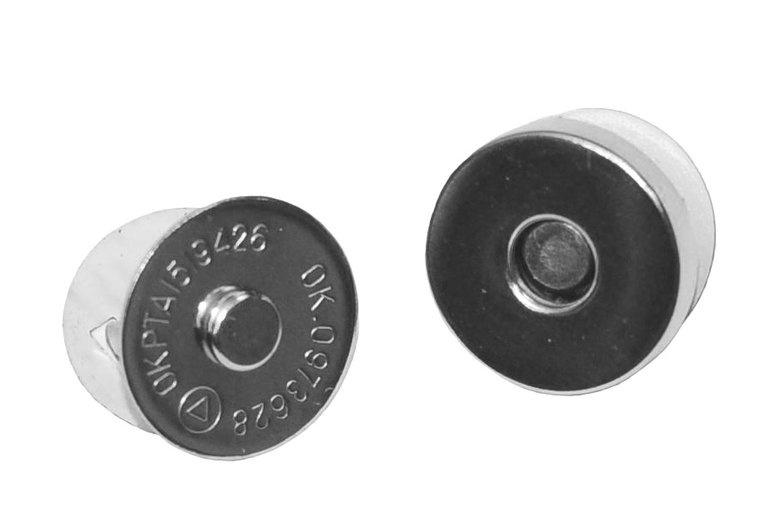 Magneetsluiting zilver 18 mm