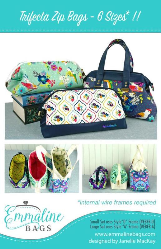 Emmaline Bags - Trifecta Zip Bags