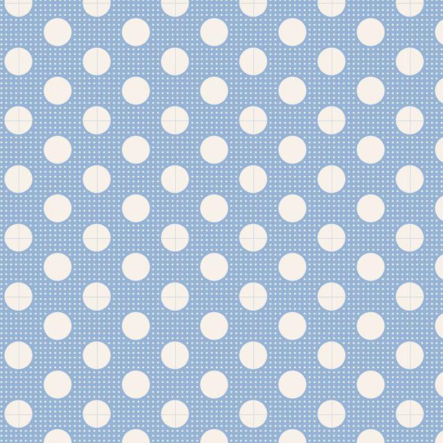Medium Dots Blue - 130002