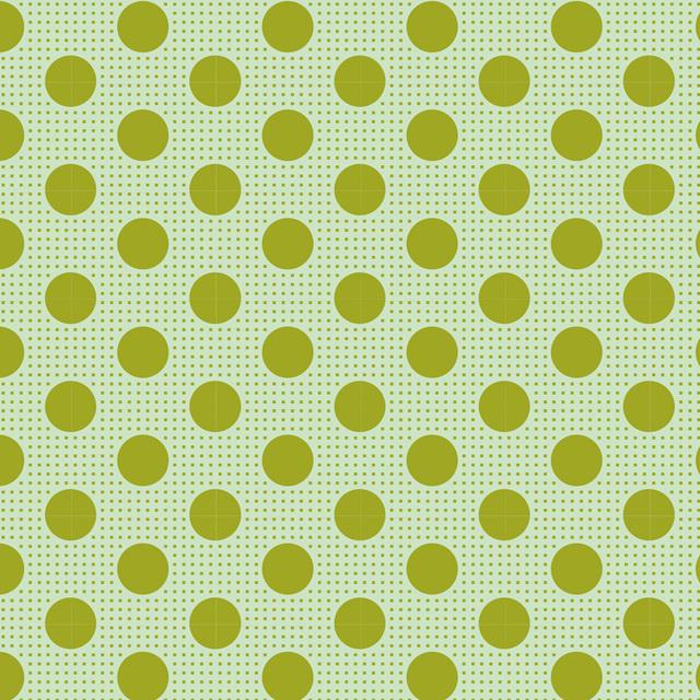 Medium Dots Green - 130011