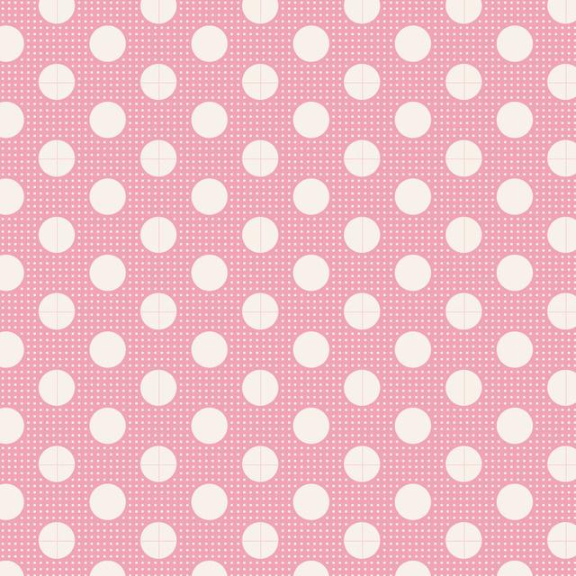 Medium Dots Pink - 130003