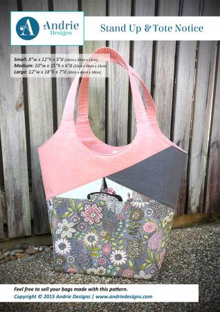 Andries Designs - Stand Up & Tote Notice