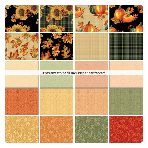 Jelly Roll Benartex - Autumn Elegance